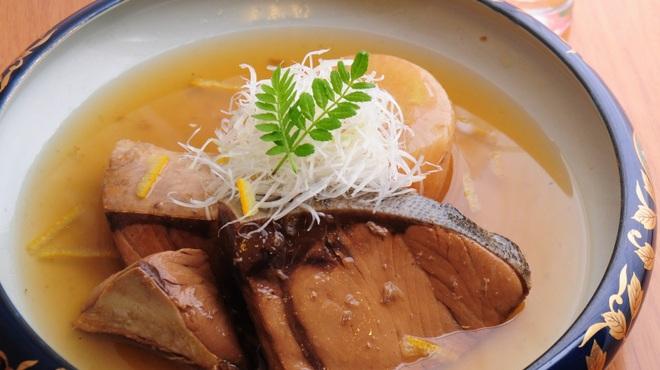 ときすし - 料理写真:冬の風物詩 ぶり大根
