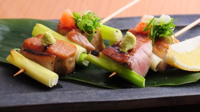 ときすし - 料理写真:本鮪のネギマ串