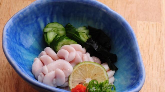 ときすし - 料理写真:たら白子ポン酢