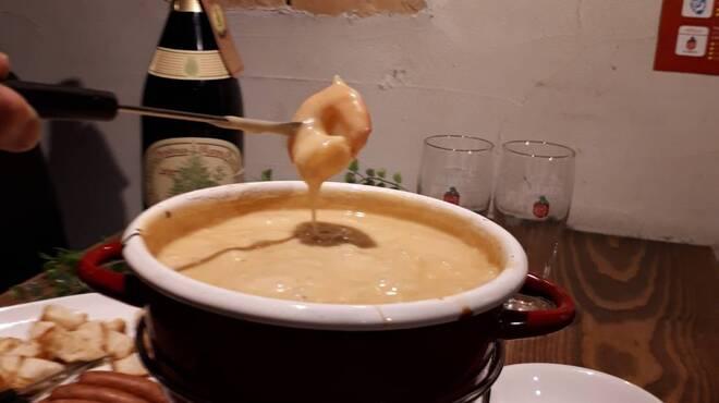 ビアバー ベアレン 中ノ橋 - 料理写真:ベアレンビールのチーズフォンデュコース