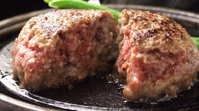 グリル フクヨシ - 料理写真:とろけるハンバーグステーキ