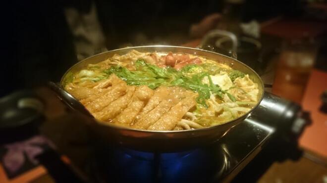 赤瓦 - 料理写真:カレー鍋