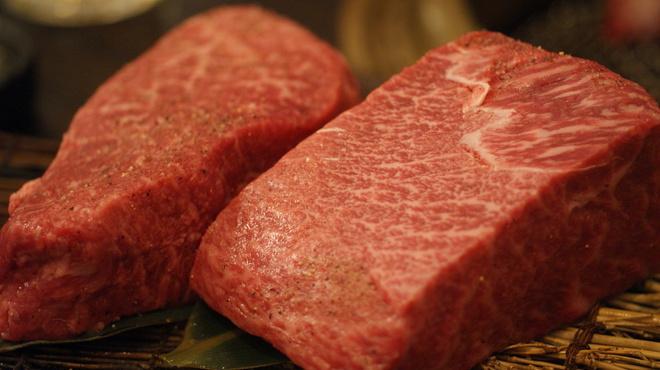 サトブリDA - 料理写真:赤身の塊肉150グラム~