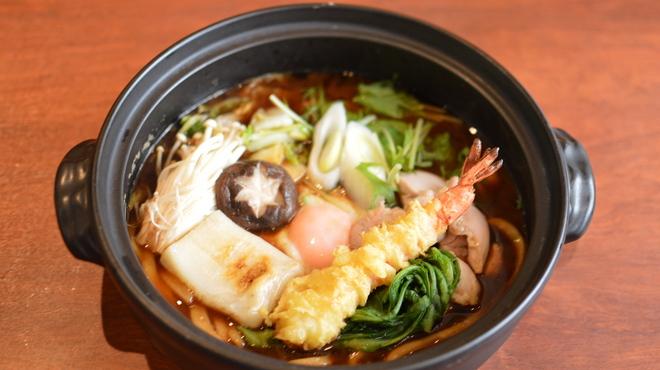 あんぷく - 料理写真:寒い時期おススメ『鍋焼きうどん』