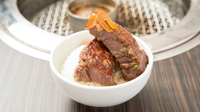 サトブリDA - メイン写真:肉ごはん1