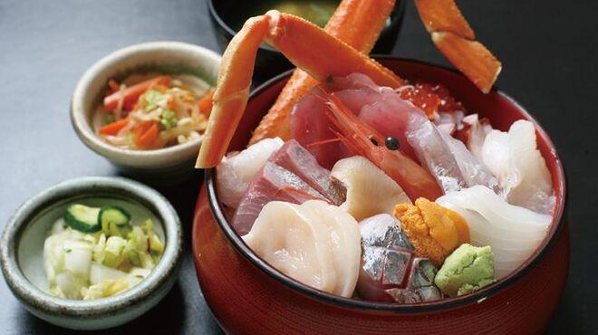 魚康 - 料理写真:海鮮多幸丼