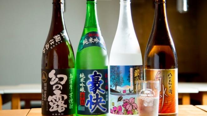 中目黒ひつじ - ドリンク写真:最新ラインナップ!焼酎は芋。麦。紫蘇を用意!