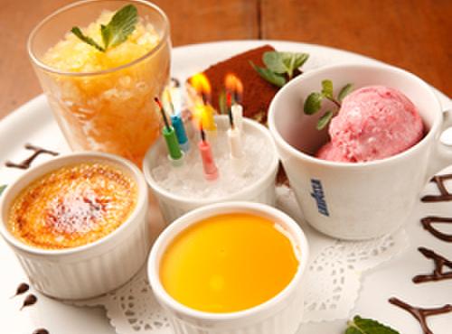 イ・ロッタ - 料理写真:お誕生日のサプライズにはバースデイプレートを!