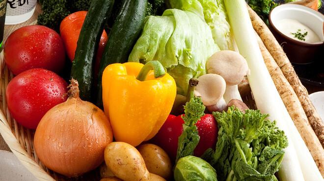 正々堂々 - 料理写真:全国各地の活きの良い野菜達!