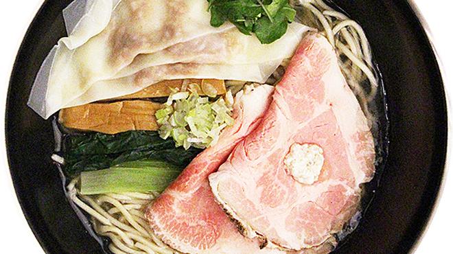 塩SOBA クワトロ・バリエ - 料理写真:トリュフワンタン+トリュフペーストの味変化