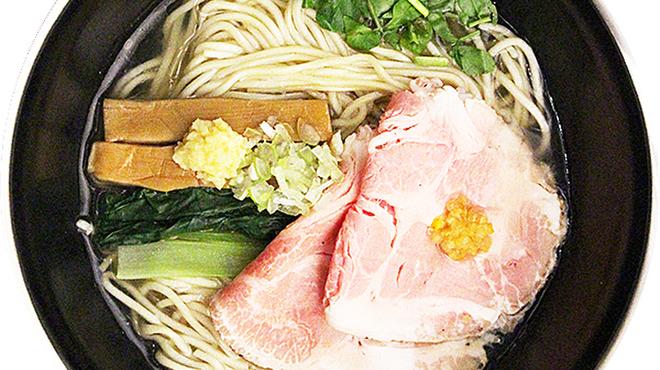 塩SOBA クワトロ・バリエ - 料理写真:生姜+柚子の味変化