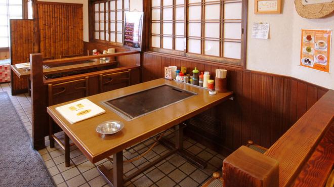 つくし - 内観写真:テーブル席もご用意いたしております。