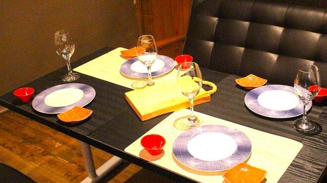 ぼくの台所 - 内観写真:ソファ席