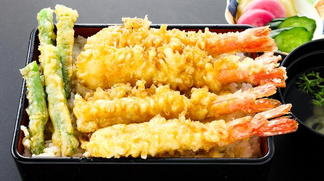 十彩 - 料理写真:海老天丼