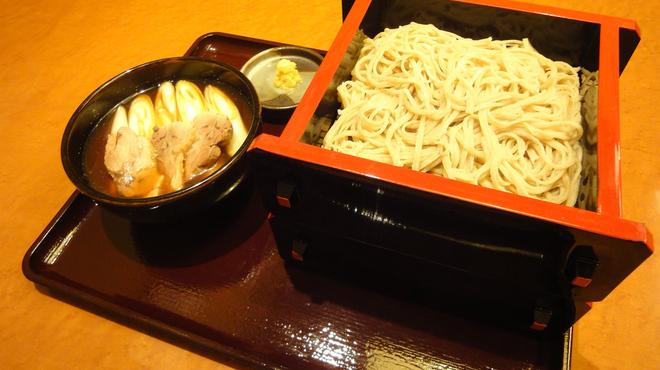 あじめん - 料理写真:一番人気!【鴨つけ汁2段せいろ蕎麦】