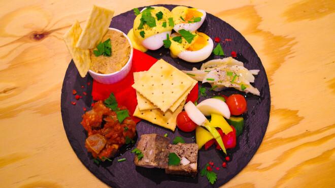 びすとろハヒフヤ - 料理写真:前菜盛り合わせ