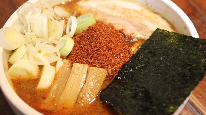麺処 井の庄 - 料理写真:辛辛魚らーめん!辛さが3段階からお選び頂きます