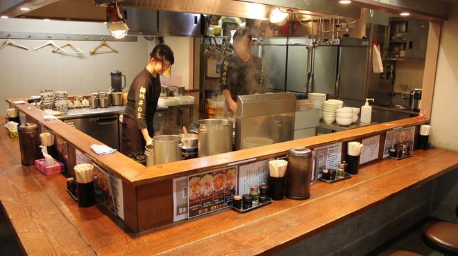 麺処 井の庄 - 内観写真: