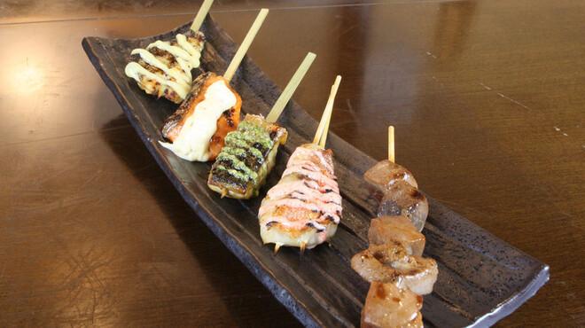 OHASHI - 料理写真:魚串五品盛り