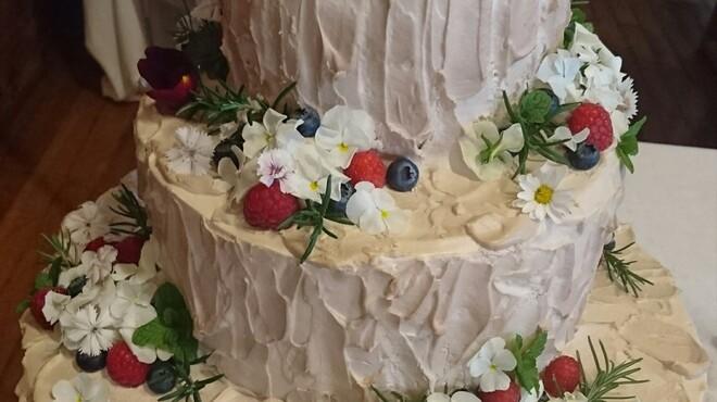 フレンチレストラン Nature - 料理写真:ウエディングケーキ