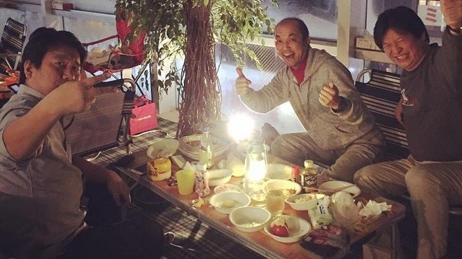 heya-niwa camping night - メイン写真: