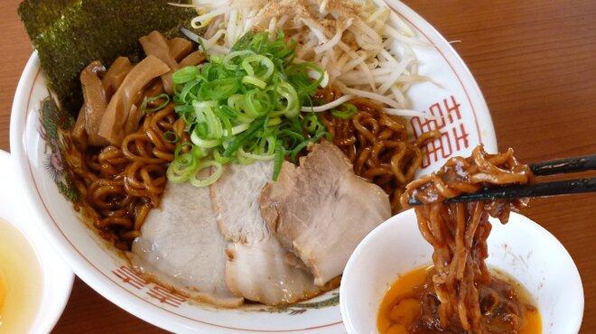 大阪ふくちぁんラーメン - 料理写真:ブラック油そば