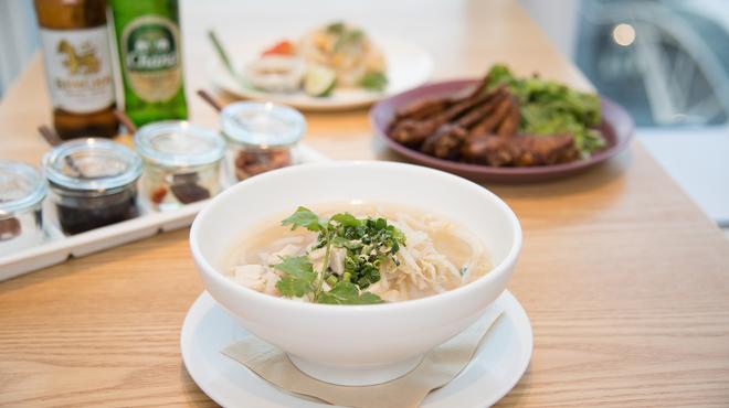 Rice people,Nice people! - 料理写真:茹で鶏のライスヌードル