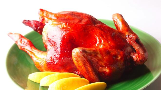Restaurant NIHIRO 北千住 - 料理写真:丸鶏のオーブン焼き