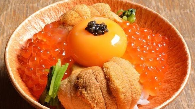 十番右京 - 料理写真:海のたまごかけご飯