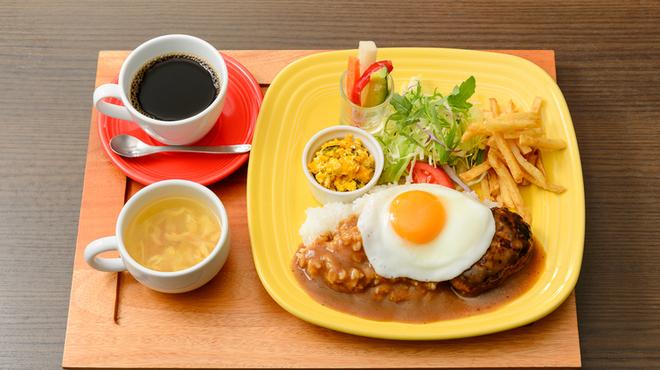 ウイラニ - 料理写真:ロコモコランチ