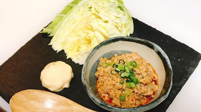 和食居酒屋みつぼし - 料理写真:肉みそキャベツ