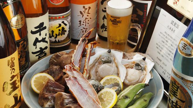 北海番屋 - 料理写真:新鮮な食材に、美味しいお酒をご用意しております