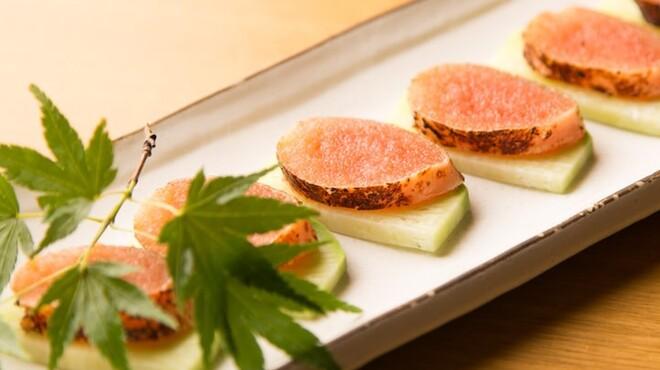 ぬる燗 佐藤 - 料理写真:明太子粕味噌焼き