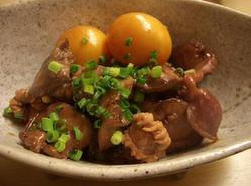 江戸路 - 料理写真:鶏もつ煮