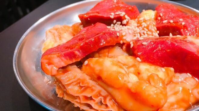 ホルモン大和 - 料理写真:ホルモンセット