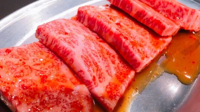ホルモン大和 - 料理写真:カルビ(バラ)