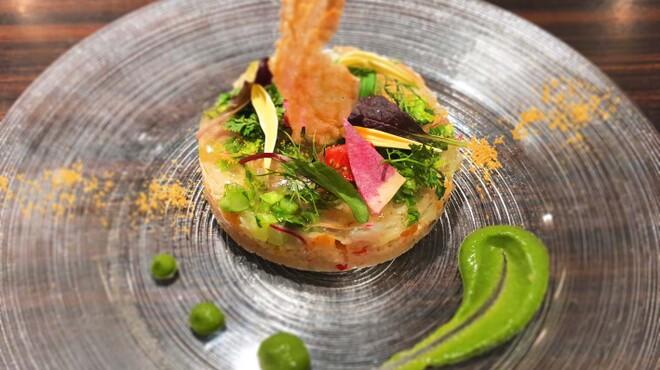 俺のフレンチ TOKYO - 料理写真:サワラのタルタル