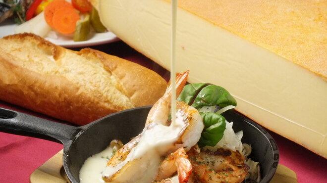 オマール海老&ラクレットチーズ オマール - メイン写真: