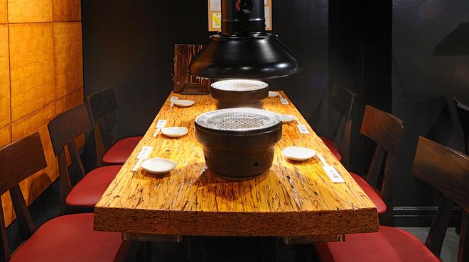 炭焼水七輪焼肉匠たじま - メイン写真: