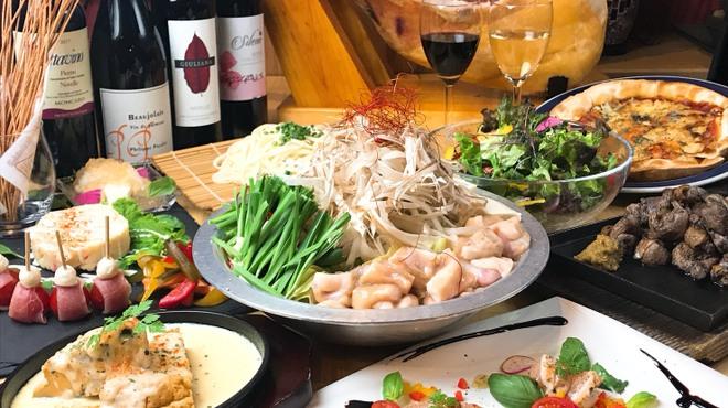 呑喰楽座 タベルバ - 料理写真:歓送迎会コース