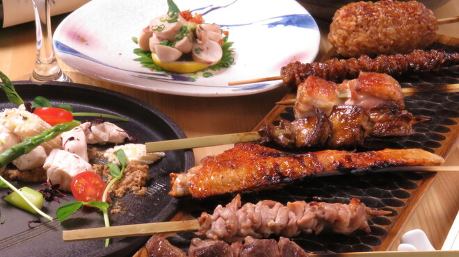 炭火・焼鳥 鶫 - 料理写真:天草大王コース【熊本地鶏の天草大王を存分にご堪能頂けるコース】