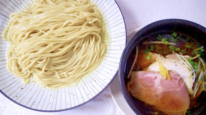 麺道 麒麟児 - 料理写真:淡麗つけそば(中盛)