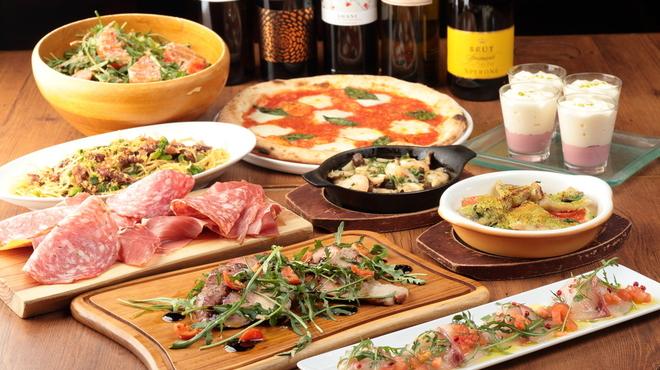 俺のイタリアン - 料理写真:大皿プランシェア