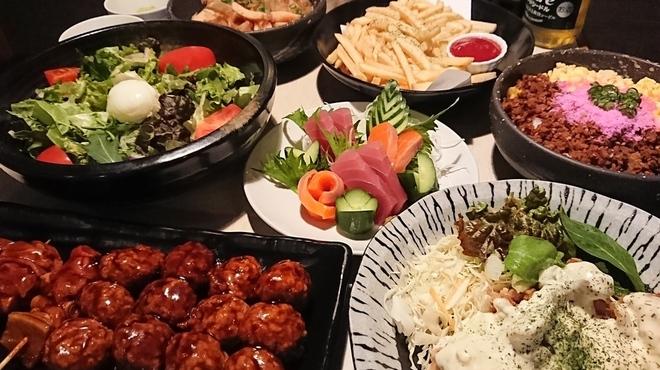 きてや - 料理写真:3500円宴会コース