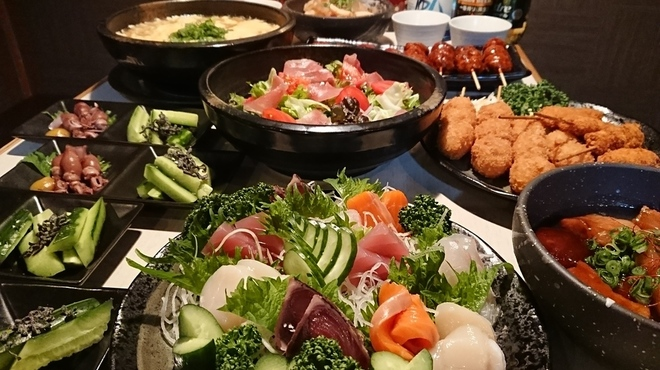 きてや - 料理写真:5000円宴会コース