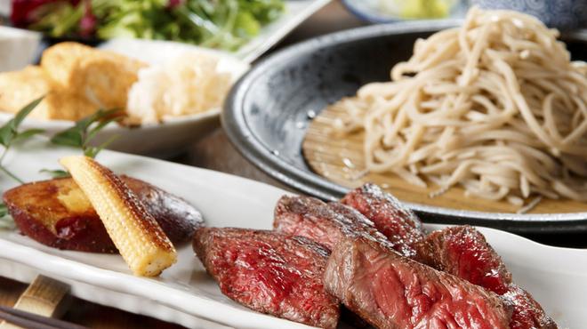 日本蕎麦&鉄板ダイニング 三ヶ森 - メイン写真: