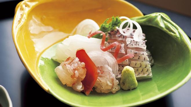 京都 吉兆 - 料理写真:季節のお造り※写真はイメージです