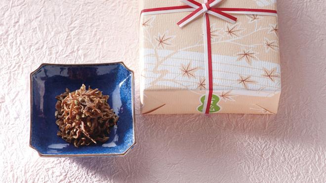京都 吉兆 - 料理写真:おもたせに・・本さざ波煮(税込3,240円)