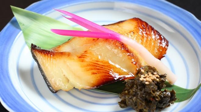 須田 - 料理写真:銀ダラ西京焼き