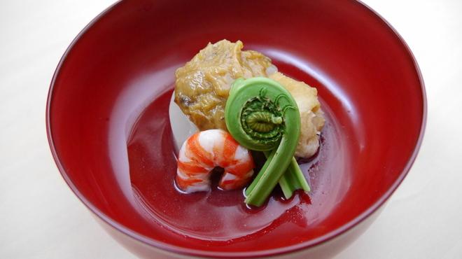 そば会席 立会川 吉田家 - 料理写真:蕗味噌大根
